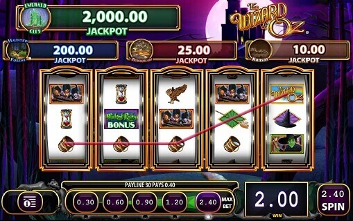 Wizard-of-Oz-Wicked-Riches-slot-game